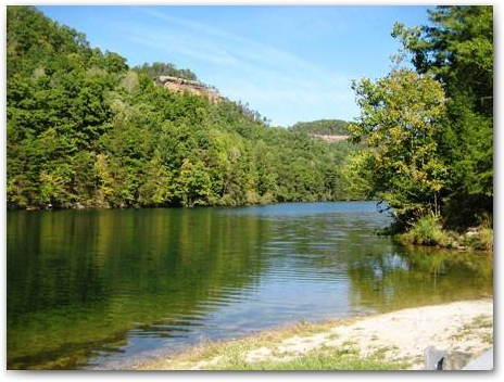 Mill Creek Lake | Red River Gorge Canoeing
